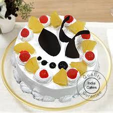 Cake Order Pineapple Cake Half Kg Online Indiacakes