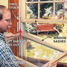 How To Paint Interior Windows How To Fix A Double Hung Window Family Handyman