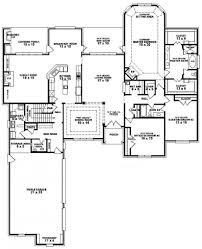 Easy Floor Plan 654275 3 Bedroom 3 5 Bath House Plan House Plans Floor Plans