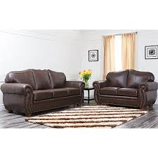 Leather Sofas And Loveseats by Leather Living Room Furniture
