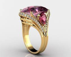 gemstone rings images Exquisite gemstone rings 3d print model cgtrader jpg