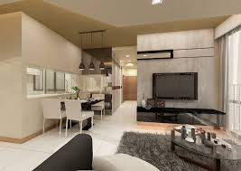 study room design concept of and woodland hdb renovation by behome