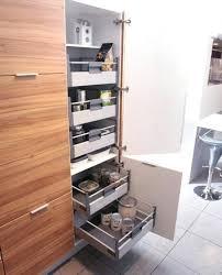 cuisine rangement coulissant cuisine rangement astuce rangement cuisine contemporain rangement