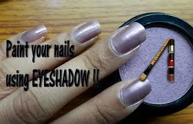 paint your nails using eyeshadow artistros quick u0026 easy nail art