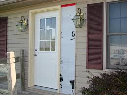 how to repair exterior door frame modern rooms colorful design