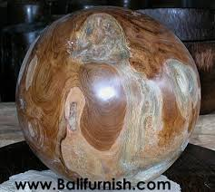 wood balls from indonesia