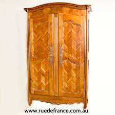 What Does Armoire Mean In French Antique French 2 Door Cherry Wood Armoire Cupboard Wardrobe