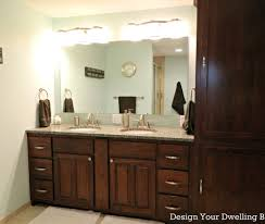 lighting light above bathroom mirror dreadful mirrored light