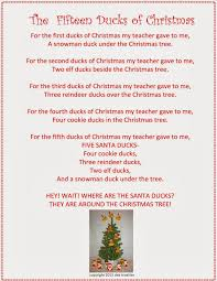 rainbows to snowflakes a creative life the 15 ducks of christmas