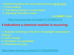 chemical reactions chapter 11 chemical reactions are occurring