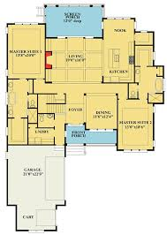 floor plans with two master suites cape cod with two master suites 15081nc architectural designs