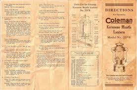 lighting a coleman lantern doron papo lantern site coleman documents