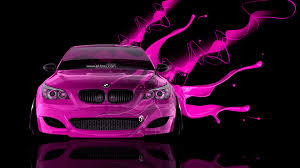 pink cars bmw m5 front live colors car 2014 el tony