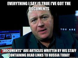 Alex Jones Meme - i ve got the documents alex jones know your meme