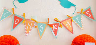 congratulation banner free printable banners graduation party ideas by the day