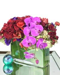 flowers atlanta deliver a flower arrangement of roses and orchids