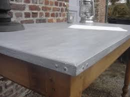 plan de travail en zinc pour cuisine plaque de zinc pour recouvrir un meuble excellent de couleur