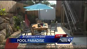 Best Backyards Best Backyards In The U0027burgh A Pool Paradise Youtube