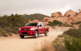 nissan frontier quarter mile 2012 nissan titan pro 4x crew cab first test truck trend