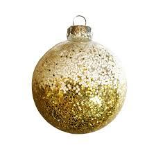 gold white glitter bauble jones fountaine