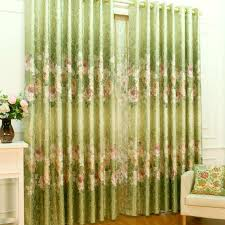 Green And Beige Curtains Wonderful Green Colour Curtains Decorating With Room Darkening