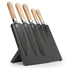 kitchen knives block taylors eye witness 5 magnetic knife block set harts of stur