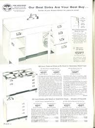Sears Kitchen Faucets by 1958 Sears Kitchen Cabinets And More 32 Page Catalog Retro