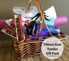 fitness gift basket fitness goal tracker gift pack the bandit lifestyle