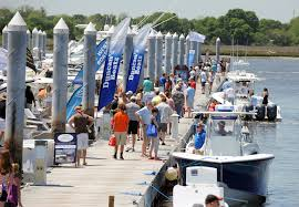 gallery charleston in water boat show