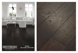 black wood floor porcelain wood look tile black and white