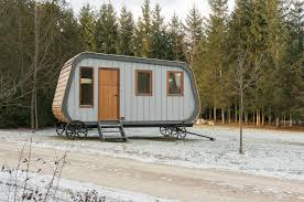 tiny collingwood shepherd hut on wheels is inspired by 19th