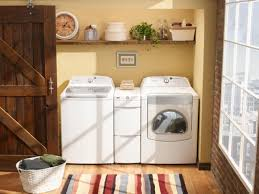 Decorating Ideas For Laundry Rooms 7 Stylish Laundry Room Decor Ideas Hgtv S Decorating Design