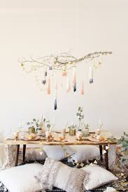 cozy home decor cozy home decor diy dip dye tassel chandelier shop sweet things