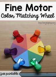 motor color matching wheel