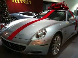 car gift bow really do give cars with bows on top as gifts