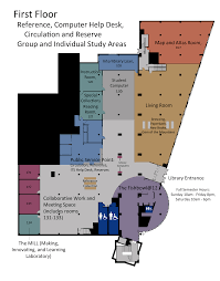 library of congress floor plan floor maps university of idaho library