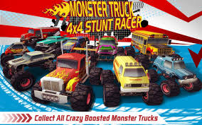 monster truck 4x4 stunt racer android apps on google play
