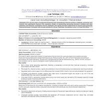 Resume Cover Letter For Accounting Position Cover Letter Cpa