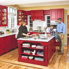 red cabinets in kitchen emejing red kitchen cabinets photos liltigertoo com