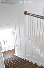 best 20 cottage stairs ideas on pinterest cottages farmhouse finally have the stair case board and batten ready to show it was fairly easy