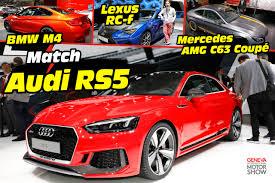 lexus rc vs mercedes l u0027audi rs5 2017 face aux bmw m4 mercedes amg c63 et lexus rc f