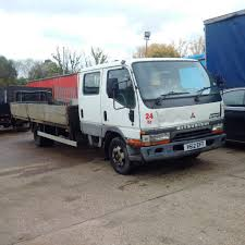 mitsubishi truck canter mitsubishi canter fe649 4d34t 3 9 diesel 6 tyres 7 5 ton truck