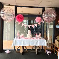 oversize balloons cake table decor confetti balloons balloons