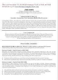 resume summary of qualifications management summary on a resume best good resume objectives ideas on resume