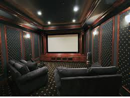 home theater blackout curtains interior modern home theatre with 5 leather home theatre seating
