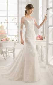 half lace wedding dress lace vintage trumpet bridals dress with sleeves rustic