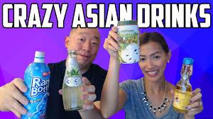 Water Challenge Asian Asian Drinks Taste Test Challenge
