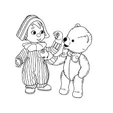 9 andy pandy coloring images kids