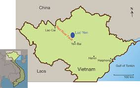 Production Map Gem Quality Mining Countries Update On Gemstone Mining In Luc Yen Gems Gemology