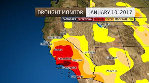 california drought map january 2016 storms end drought in much of northern california the weather